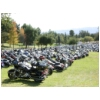 57 Bikes Parked at Castaic Lake